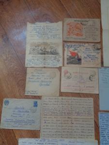 Письма с фронта 625 арт.полк 182 стр.див. с 31.12.1941 по 1943 р.Ловать Демянский котел