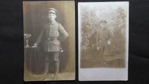 Немецкие солдаты на службе Германии.