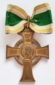 Крест военных заслуг 1915-1918, Саксония