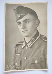 Портретное фото солдата