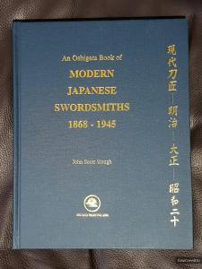 An Oshigata Book of Modern Japanese Swordsmiths 1868 - 1945