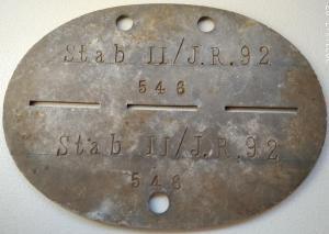 Stab II/J.R. 92