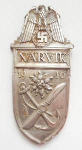 Narvik (Нарвик) копанный, в серебре, некомплектный, штыри сохранились