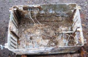 Алюминиевый ящик для аппаратуры