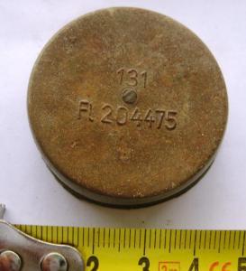 Колпачок на ствол авиационного пулемета