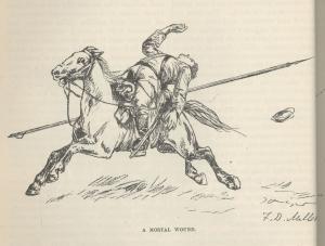 """Казаки (журнальная статья в """"Harper's New Monthly Magazine"""" за 1887 год """"Campaigning With The Cossacks"""" с иллюстрациями автора)"""