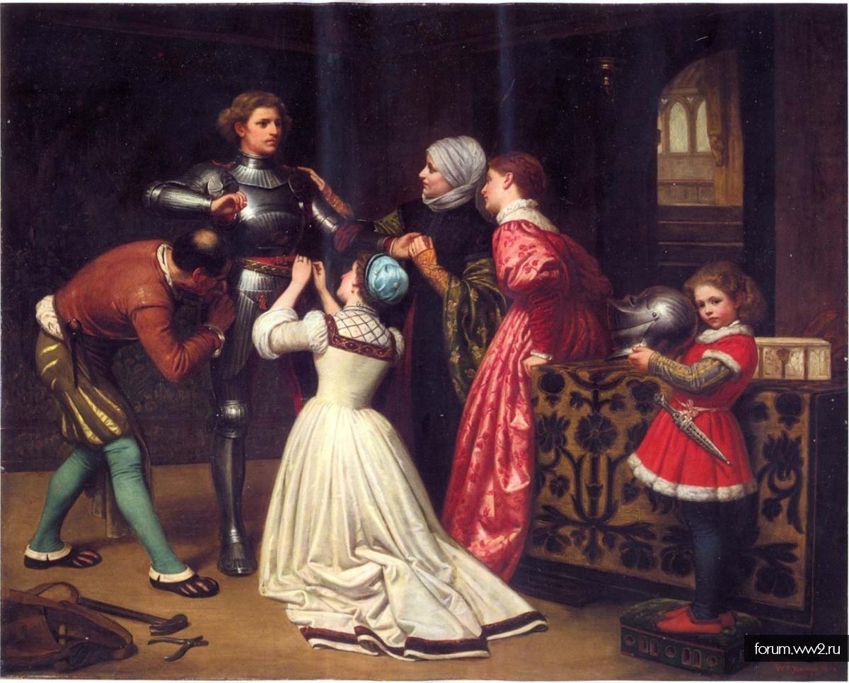 Картина для любителей средневековья