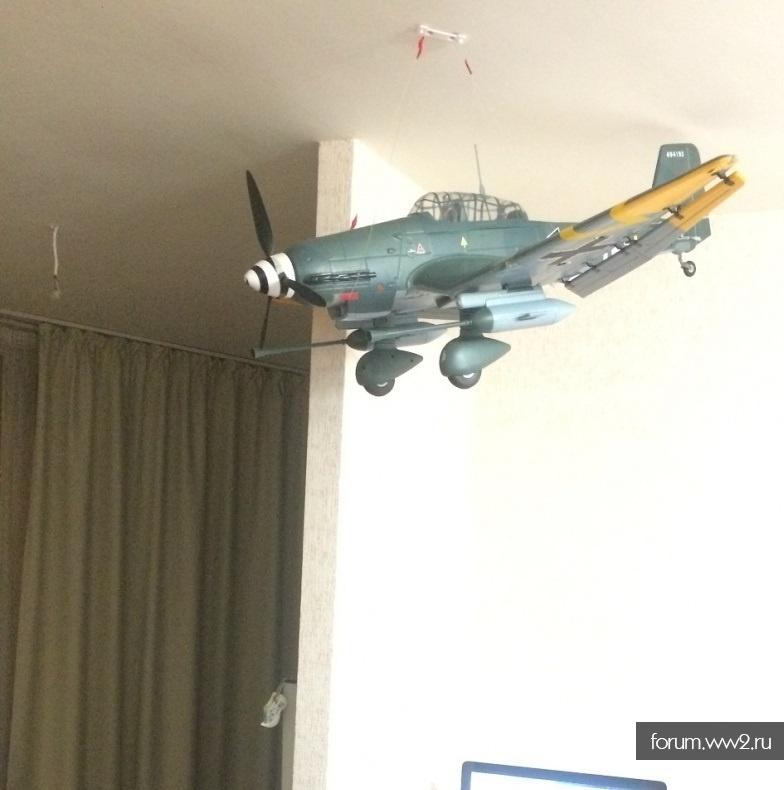 ШТУКА Ju-87 летающая, но не настоящая