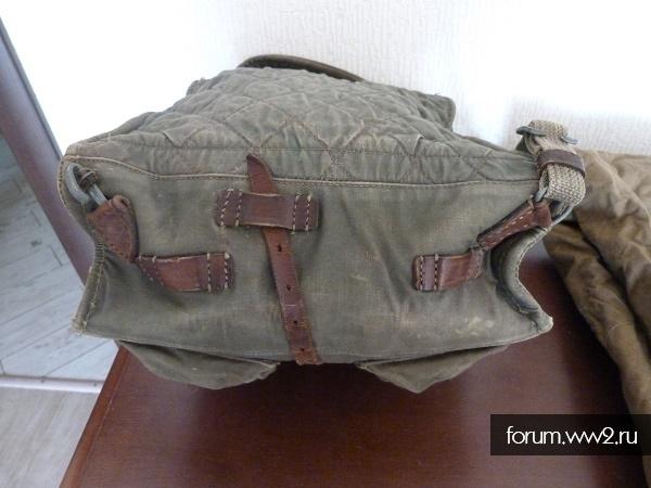 Рюкзак РККА и плащпалатка 42 год