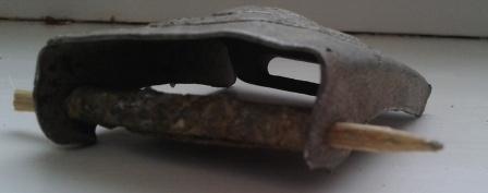 Реставрация алюминиевой пряги