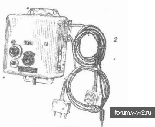 Останки аппарата радиста