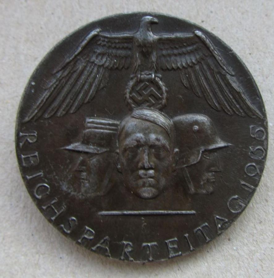 знак Reichsparteitag 1935