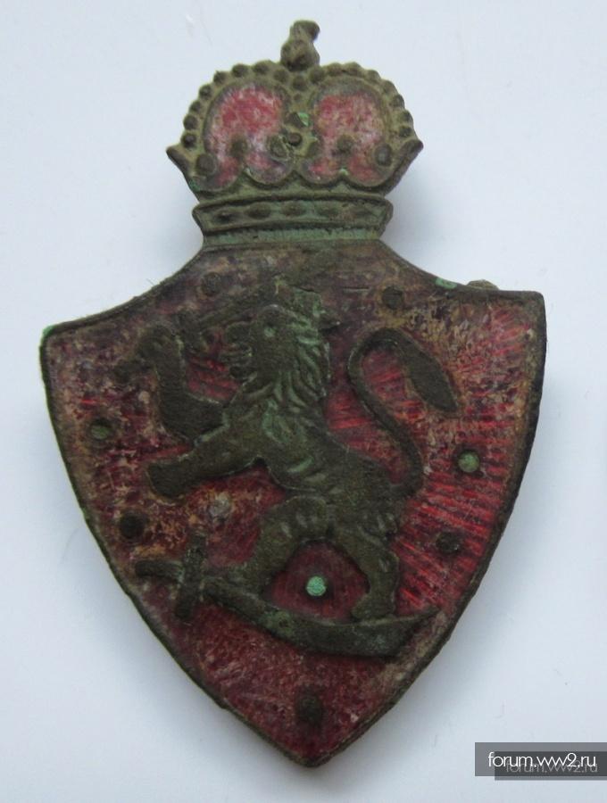 Идентификация знака в виде герба Великого княжества Финляндского
