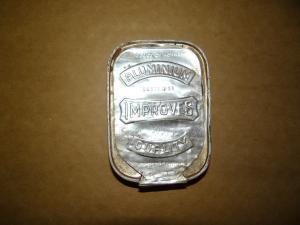 Алюминиевая банка из рациона солдат вермахта
