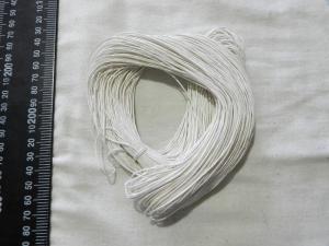 Нить вощенная белая 80 м - 4шт
