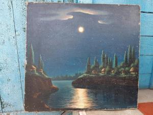 Картина, холст, масло.А.Ларьков 1957