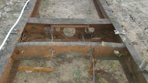 Рама с кабиной