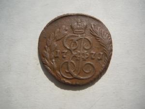 Полушка 1771 г.