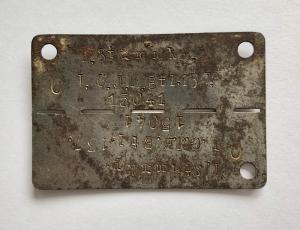 Жетон 1.Stammkp.  I. G.J.E.Bt 1.137.  15041