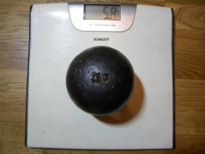 12-фунтовое ядро