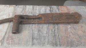 Затворная рама и ключ ДП 27.
