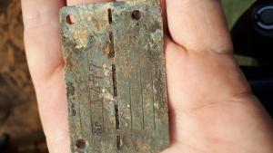 Немецкий жетон военнопленного