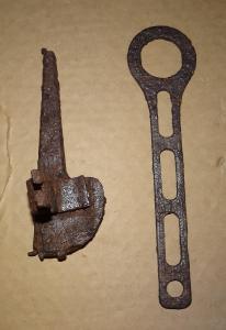 Ключ с наводкой для мортиры К-98