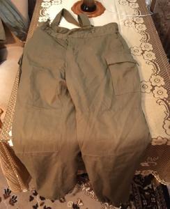 Новые штаны утеплённые