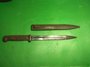 Штык нож к98 с ножнами