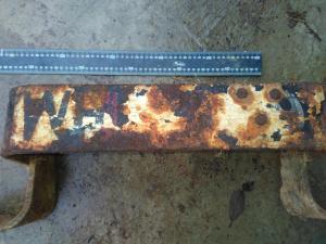 Номерной знак бронетехники вермахта