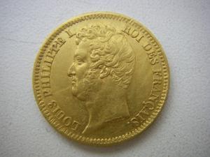 "20 франков 1831г ""А"""