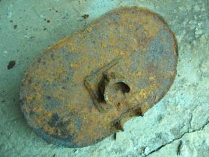 Опорная плита миномета РМ-40