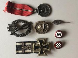 Военные и партийные знаки третьего рейха. определение подлинности.
