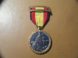 Медаль ,, гражданская война в Испании,,