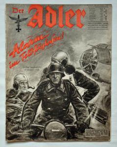 Журналы Der Adler №2 январь 1941