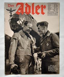 Журналы Der Adler №6 март 1941