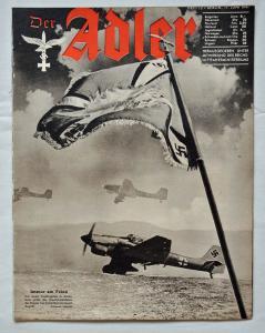 Журналы Der Adler №12 июнь 1941