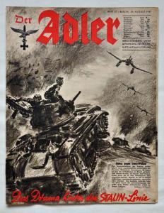 Журналы Der Adler №17 август 1941