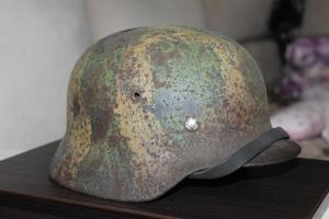 Шлем М-40/Q64 Camo Luftwaffe