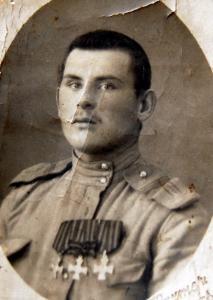 Георгиевский кавалер (вопросы по ГК на фото прадеда)