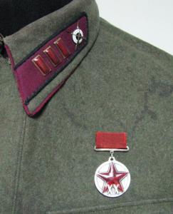 Старший батальонный комиссар РККА