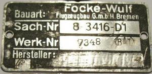 Фв-190 в районе Крымска