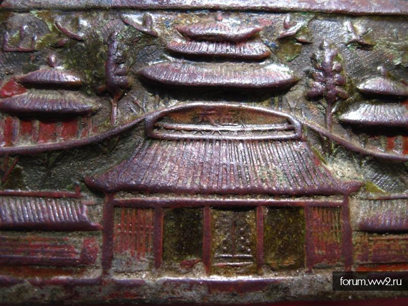 Накладка с храмом