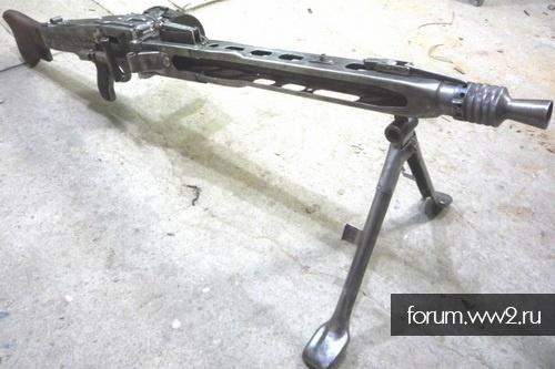 МГ- 42 (новодел из металла)