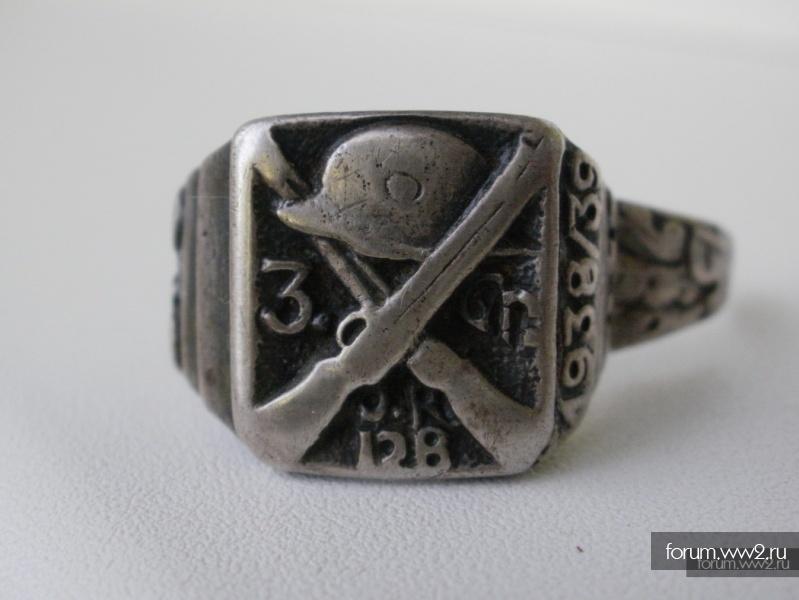 Войсковые эмблемы на кольцах. (Все виды Вооружённых Сил.)