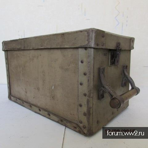 ящик картон на 16 снарядов 3,7 cm Flak.18/36