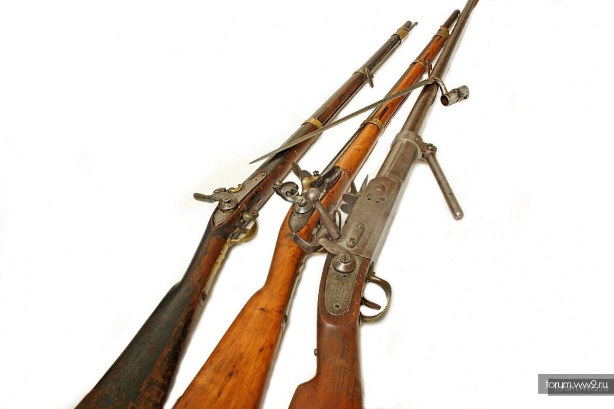 6-ти линейные драгунские винтовки обр. 1859 и 1869 гг.