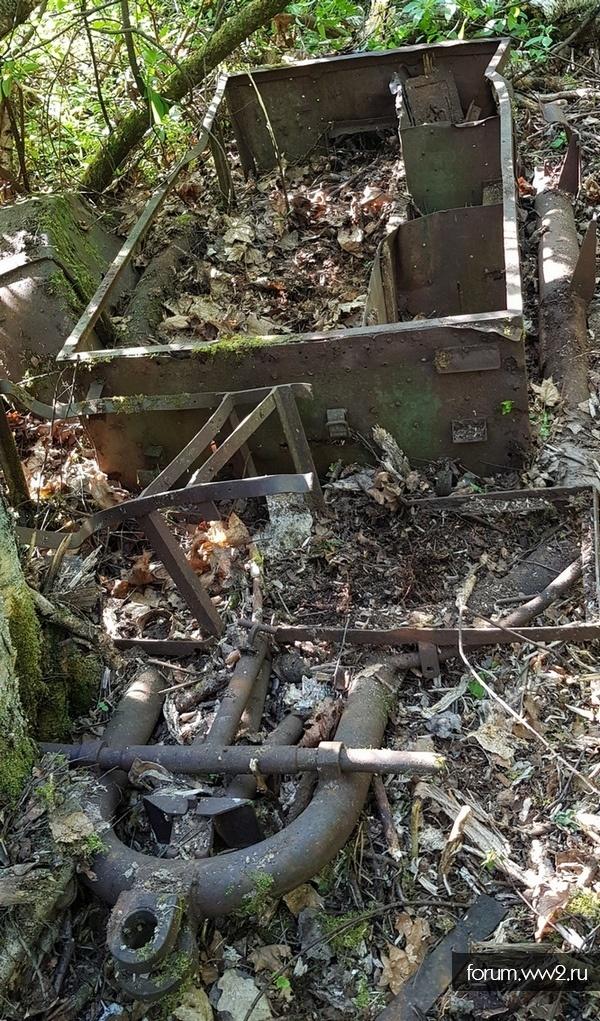 Прицеп к 37 мм зенитной самоходной установке.