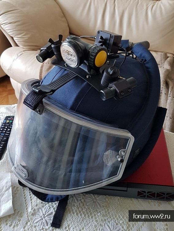 шлем взрывотехника от комплекта Доспехи