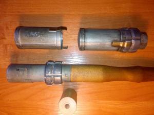 Ручные гранаты системы штабс-капитана Лишина.
